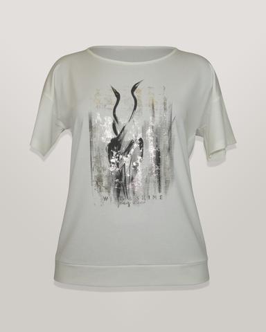 Блузка Per Mio 4433 журавль к/р