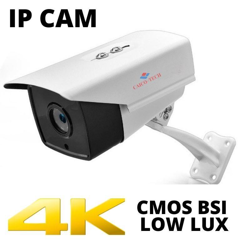 Уличные 8 Мп 4K  камеры наблюдения разрешение 3840*2160P