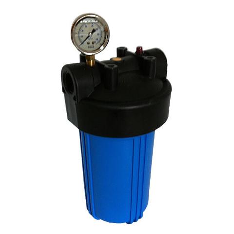 Корпус фильтра В907-ВК1-PR-G + манометр (ВВ10, вход 1