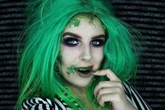 MEHRON Краска для зубов Tooth FX with Brush for Special Effects - Spinach (Шпинат), 4 мл