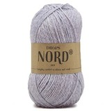 Пряжа Drops Nord 08 серо-голубой