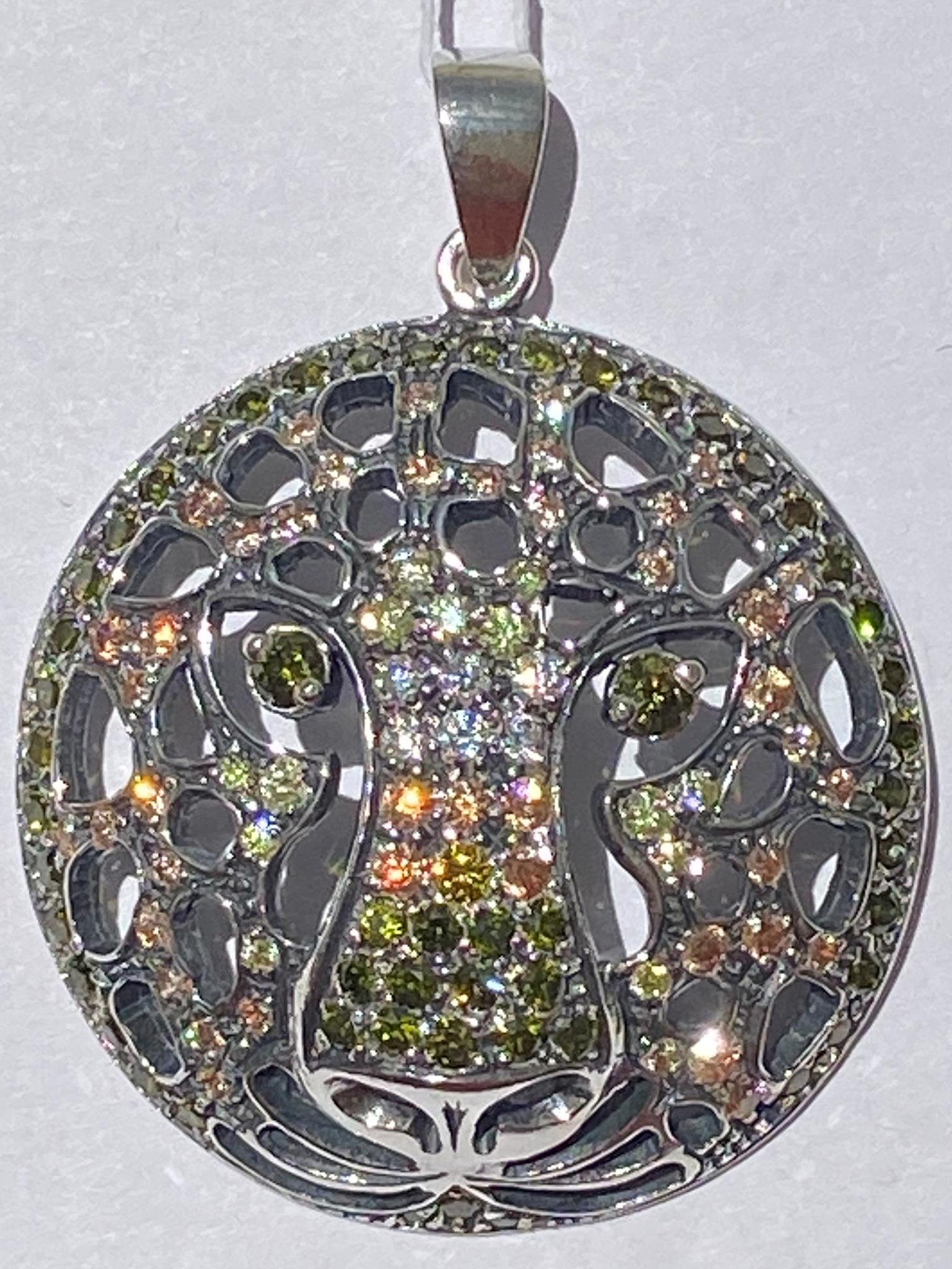 Гепард (серебряная подвеска)