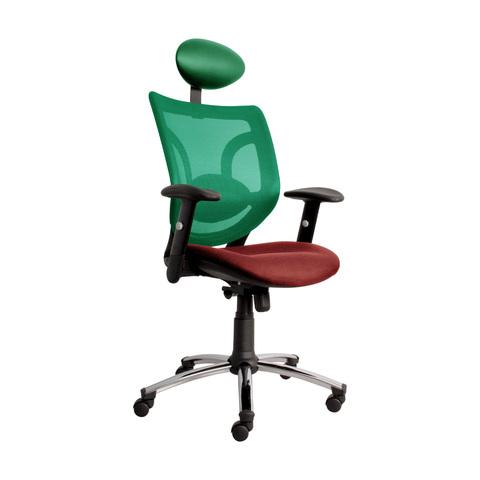 Кресло Бриз (BRISE HIGH) красно-зеленое