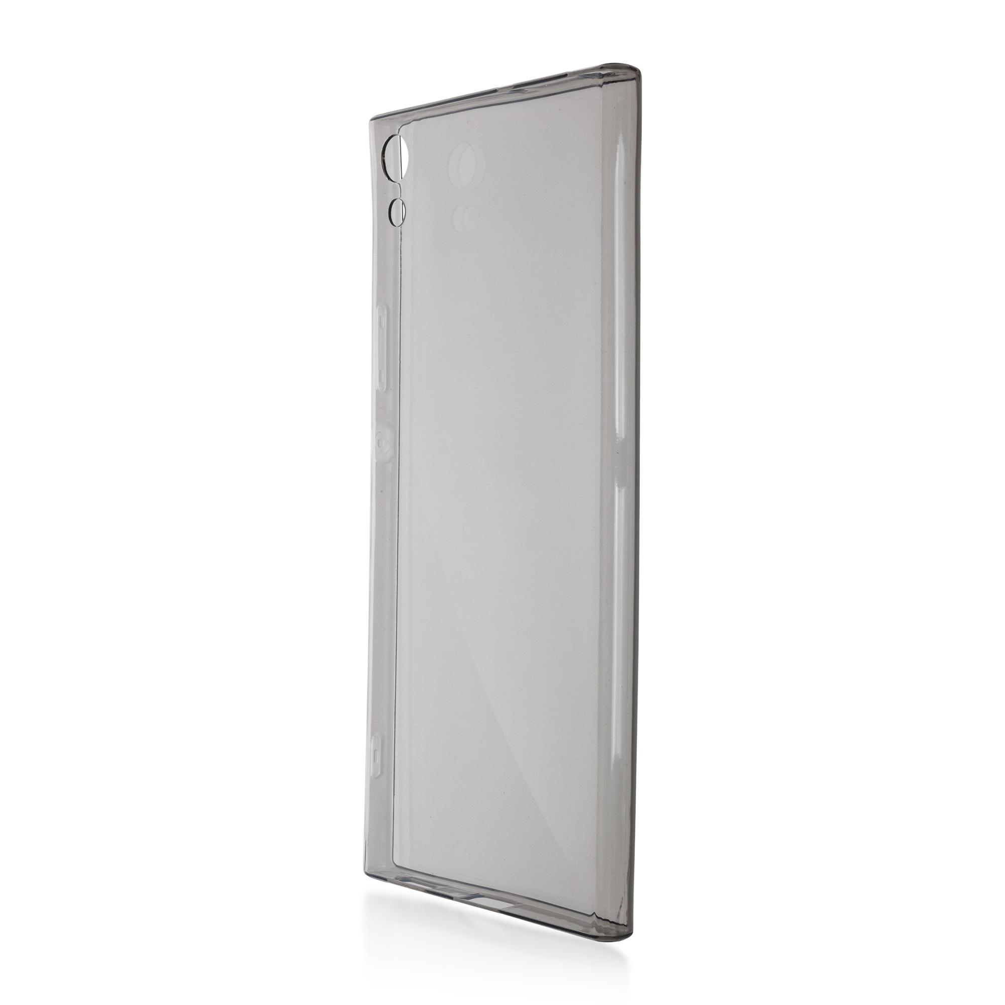 Brosco XA1 Ultra / Накладка силиконовая чёрная