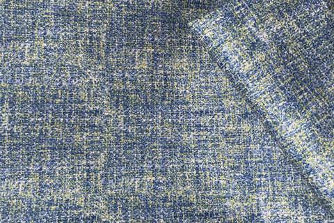 Велюр Эра 05 сине-желтый