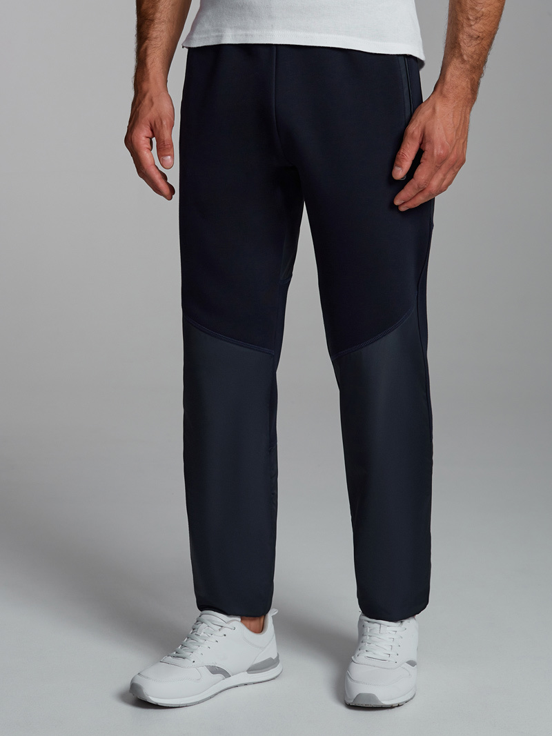 """Спортивные брюки Утеплённые спортивные брюки """"Red N Rocks"""" 22M-RR-1436-тёмно-синий_01.jpg"""