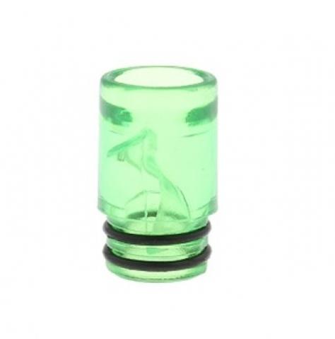 Drip-Tip Plastic 510 16.4мм зеленый