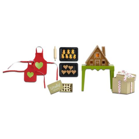 Игровой набор для домика Набор для готовки пряничный домик