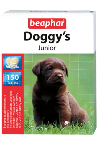 Beaphar Кормовая добавка Doggy's Junior для щенков