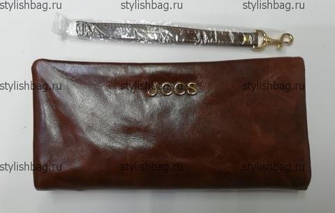 Коричневый кошелек на молнии JCCS js-3205brown