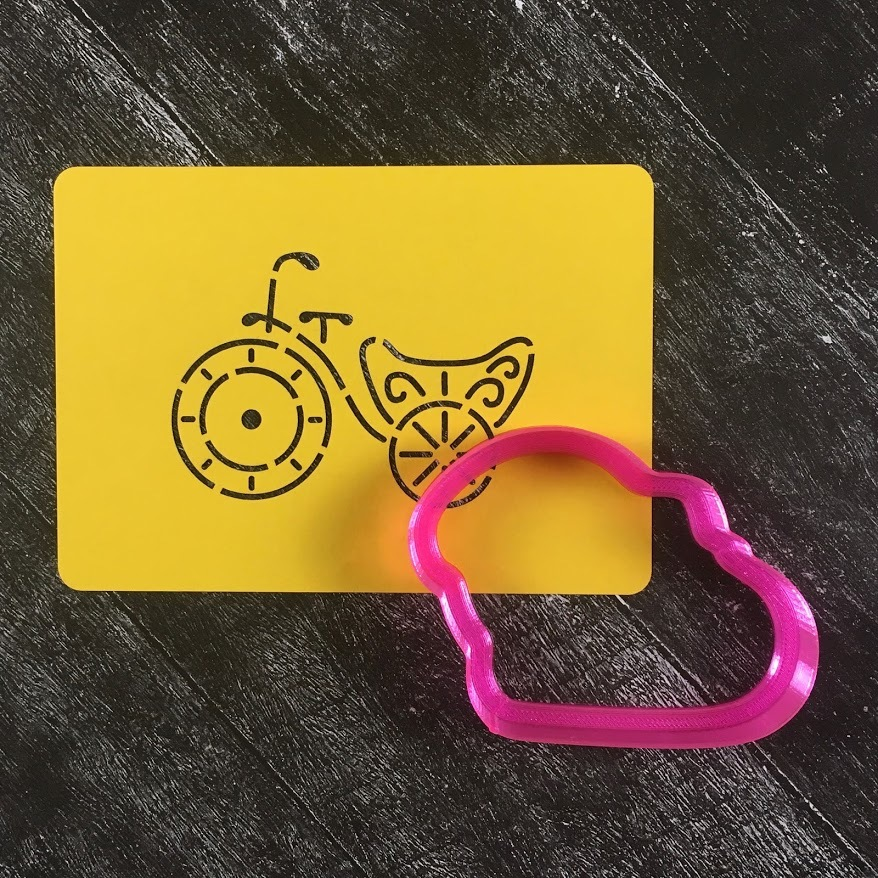 Велосипед №1 с цветами