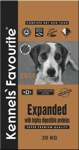 Сухой корм KENNELS` FAVOURITE DOG ADULT EXPANDED диетический для взрослых собак всех пород с курицей 20 кг.
