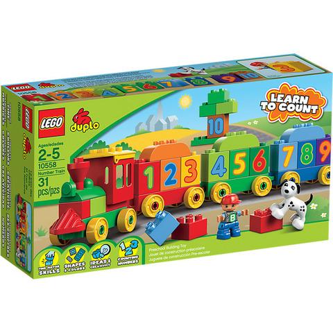 LEGO Duplo: Считай и играй 10558 — Number Train — Лего Дупло