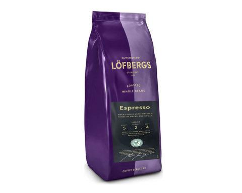 купить кофе в зернах Lofbergs Espresso, 1 кг
