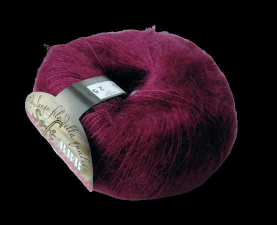 Пряжа BBB Filati Soft Dream 8755 винный