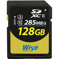 Карта памяти Wise 128GB UHS-II SDXC 285 / 250 MB/s