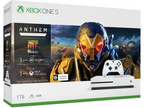 Игровая консоль Xbox One S 1TБ + Anthem (234-00948)