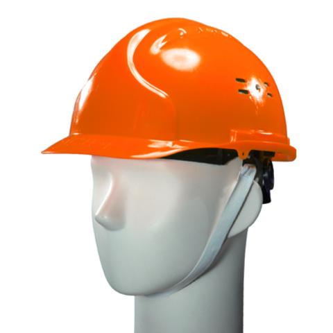 Каска защитная оранжевая ИСТОК ЕВРО