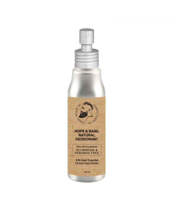 Дезодорант спрей CHEMICAL BARBERS Natural Body Deodorant хмель и базилик 100 мл