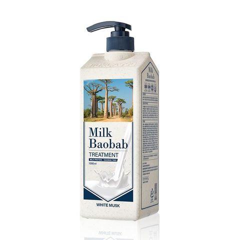 MilkBaobab Treatment White Musk бальзам для волос с ароматом белого мускуса