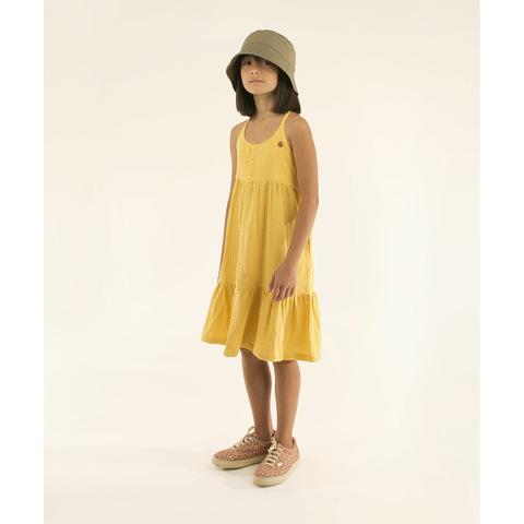 Платье Tinycottons Waves Straps Yellow
