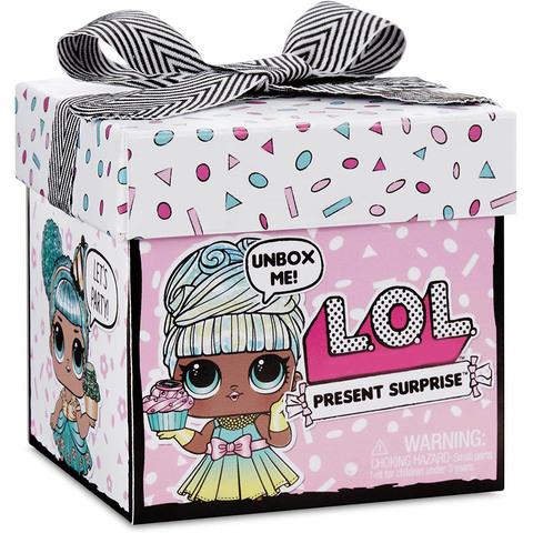 ЛОЛ Кукла-подарок с 8 сюрпризами