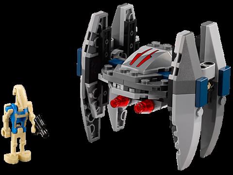 LEGO Star Wars: Дроид-Стервятник 75073 — Vulture Droid Microfighter — Лего Звездные войны Стар Ворз