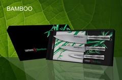SBA-0220 Набор из 3 ножей в подарочной коробке Samura BAMBOO