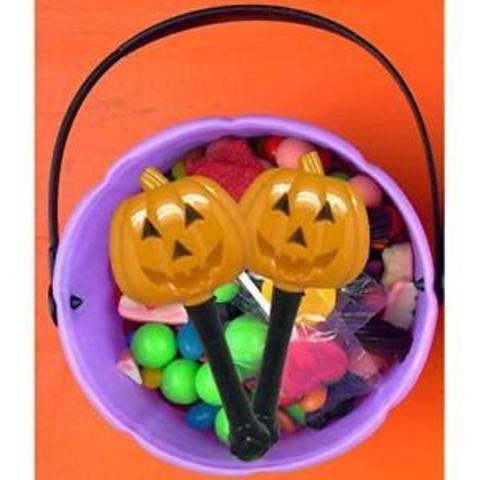 Simply Charmed Halloween Party Favors for Kids - Toys for Goody Bags - LED Light Up Wands