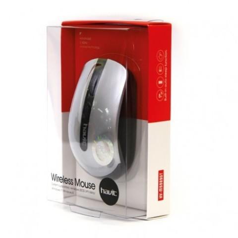 Мышь беспроводная HAVIT HV-M989GT USB black/silver