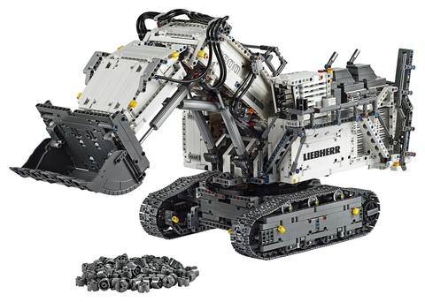 LEGO Technic: Экскаватор Liebherr R 9800 42100 — Liebherr R 9800 — Лего Техник