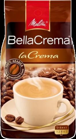 Кофе в зернах Melitta Bella Crema La Crema, 1 кг