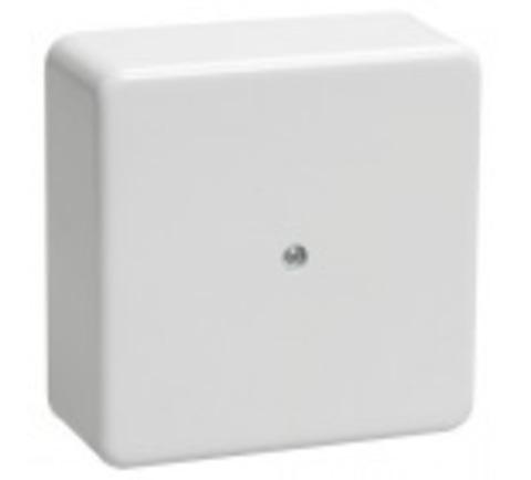 Коробка распаячная КР 75х75х20 ОП белая IP40 TDM