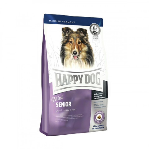Happy Dog Supreme - Mini Senior сухой корм для собак мелких пород преклонного возраста 300г