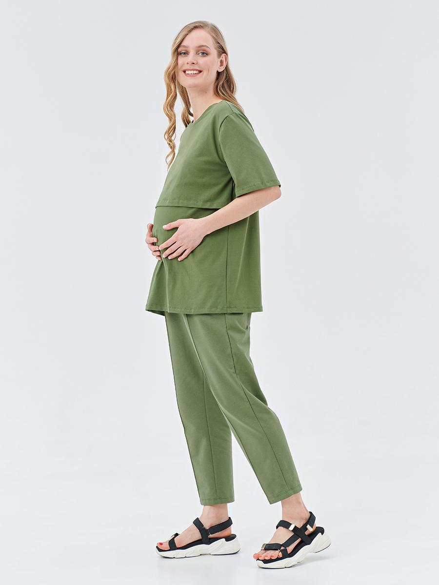 Брюки трикотажные для беременных - Фото 4