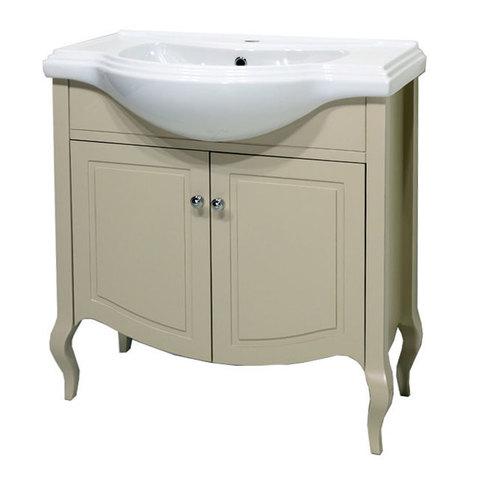 Комплект мебели Caprigo Verona 80 см (тумба с раковиной + зеркало )
