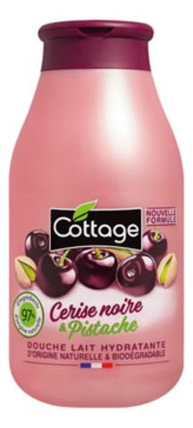 COTTAGE Молочко для душа Douche Lait Hydratante Cerise Noire & Pistache 250мл