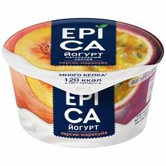 Йогурт Epica персик маракуйя 4,8% 130г
