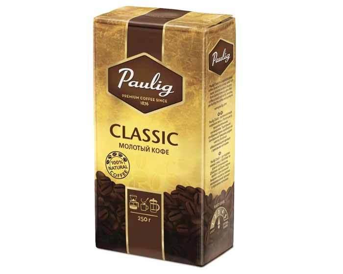 Кофе молотый Paulig Classic, 250 г