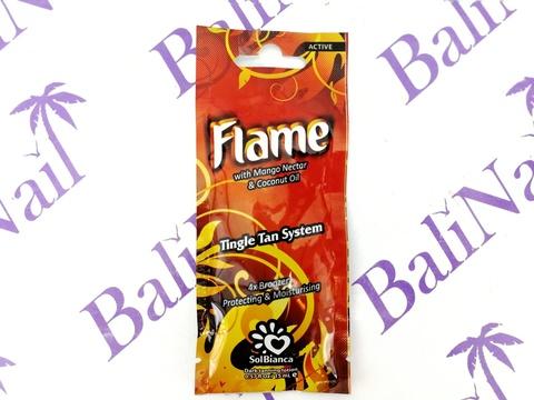 Чистовье Крем SolBianca Flame с нектаром манго, бронзаторами и Tingle эффектом, 15 мл