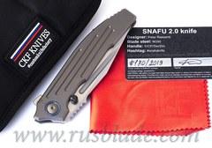 CKF/Rassenti SNAFU 2.0 collab knife