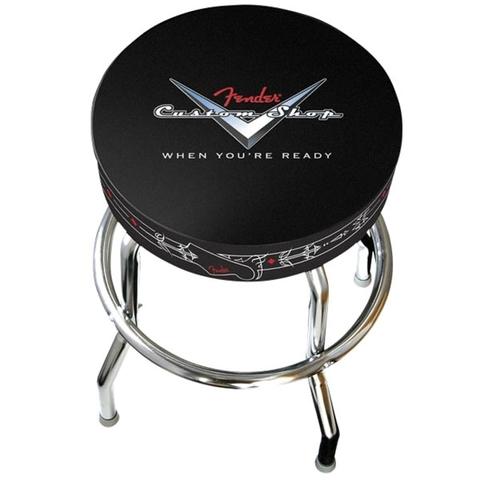 FENDER 30' Custom Shop Pinstripe Barstool высокий стул