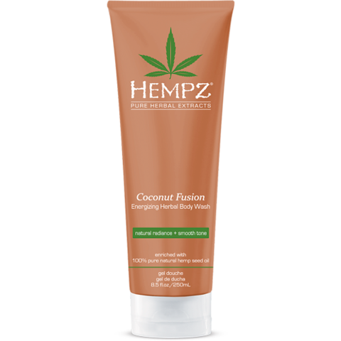 Гель для душа Бодрящий Кокос / Hempz Coconut Fusion Energizing Herbal Body Wash