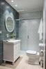 Душевая система с термостатом и тропическим душем для ванны RS CROSS 625403RM250 - фото №3