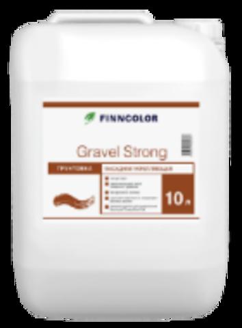 Фасадная укрепляющая грунтовка Finncolor Gravel Strong
