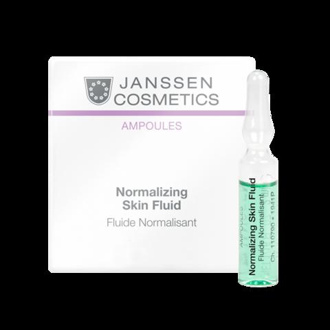 JANSSEN COSMETICS Нормализующий концентрат для ухода за жирной кожей | Normalizing Fluid 3х2 ml