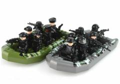 Минифигурки Военных SWAT серия 398