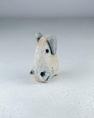Скульптура из шамотной глины «Слон-ребенок», 11х9 см, Falco Ceramic
