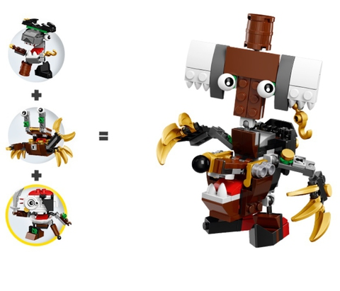 LEGO Mixels: Скалзи 41567 — Skulzy — Лего Миксели
