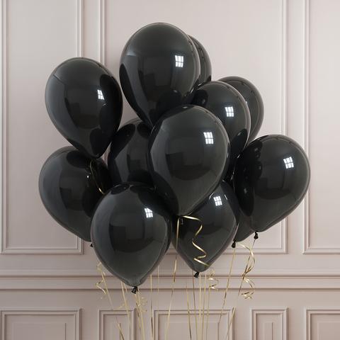 Облако черных шаров